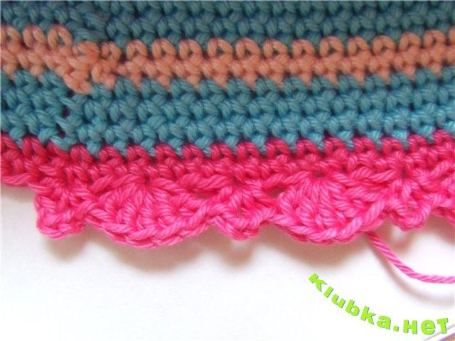 панамка для девочки крючком - Вязание