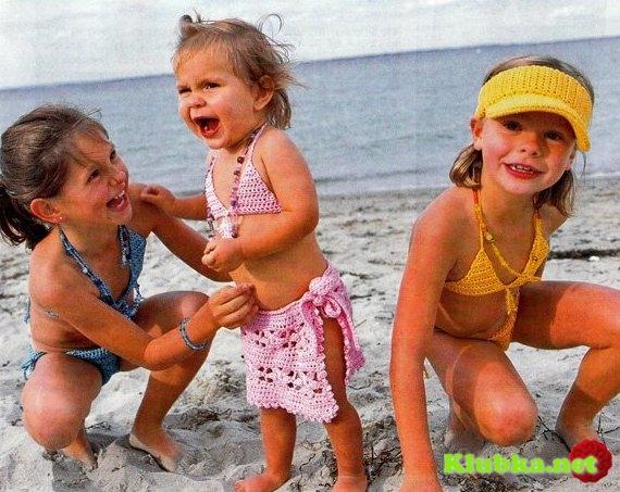 дети в купальнике